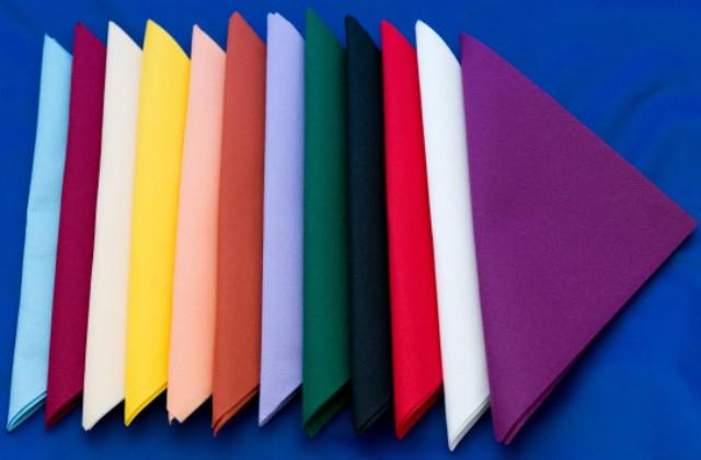 Coloured Napkins