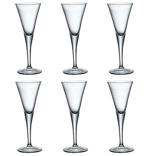 Fiore Stemmed Sherry/Liqueur  Glasses
