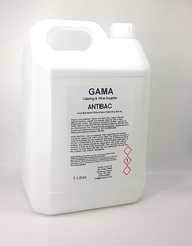 GAMA Antibacterial Hard Surface Cleaner - 5l