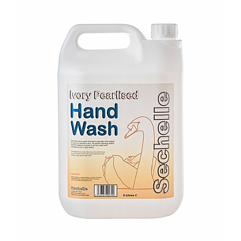 Swan Ivory Pearlised Perfumed Hand Soap -5l