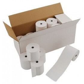 Kitchen Printer Rolls,1 ply,  76mm, 12.7 mm, box of 20