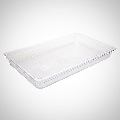 Polycarbonate 1/1 Gastronorm Container 65mm (8.5l) Clear