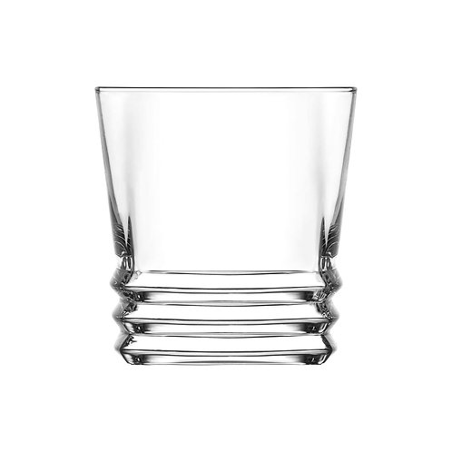 Elegant Ridged Tumblers 325ml -Pack of 6