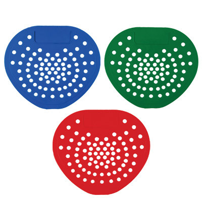 Scented Urinal Screens RED (Pack of 12)