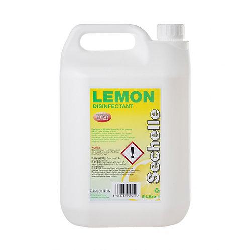 Lemon Disinfectant ( BSEN 1276) 5L Concentrated