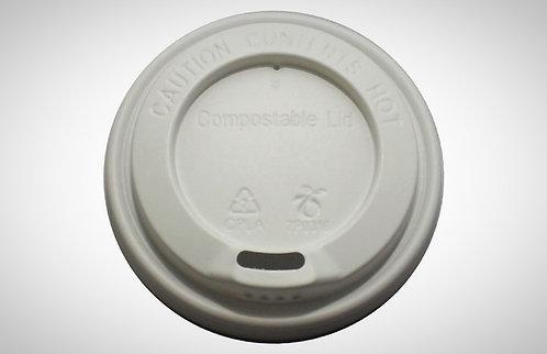 Sip-Thru Lids - 100% Compostable - pack of 1000 ( 10/12/16 oz)