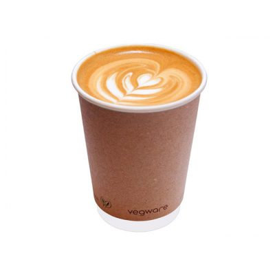 Vegware 8oz Double Wall Craft Cup - Pack of 500