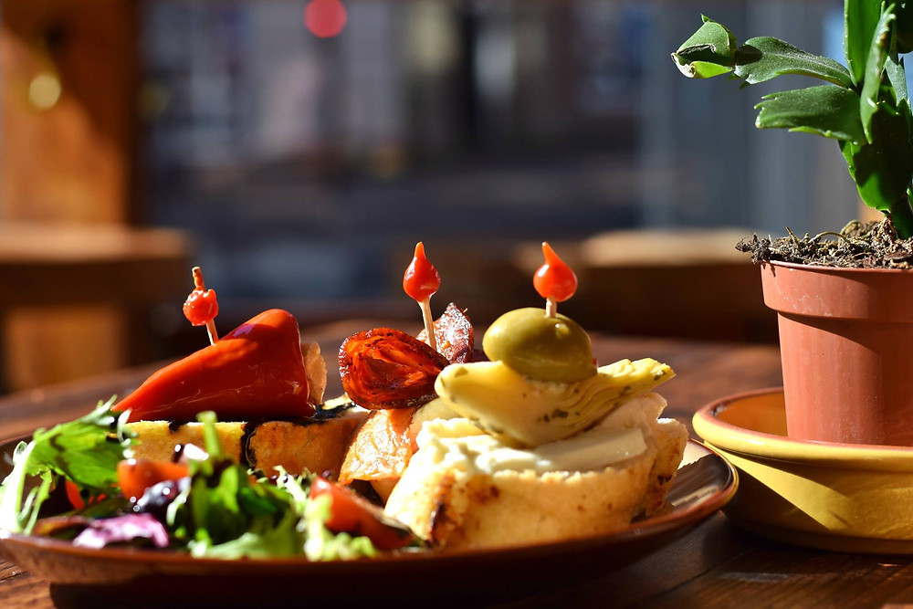 Snack in Teajuanas Cafe