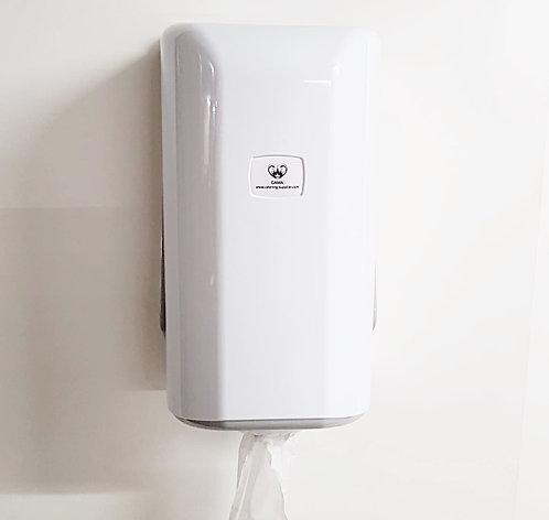 GAMA Mini Centre-feed Paper Towel Dispenser White