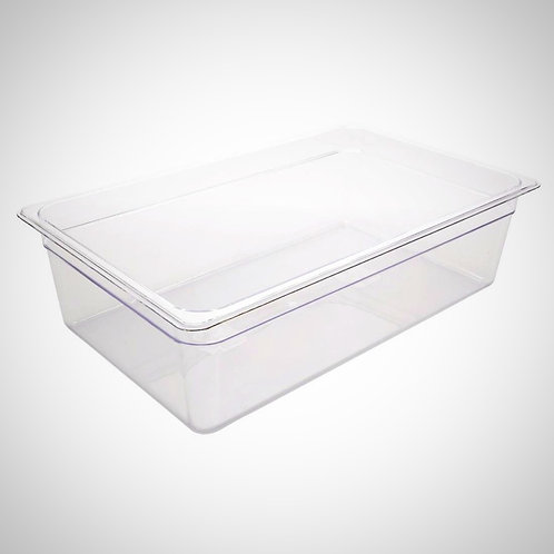 Polycarbonate 1/1 Gastronorm Container 150mm (19.5l)  Clear
