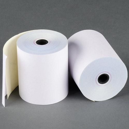 Rolls 2ply 76x70 -White-White