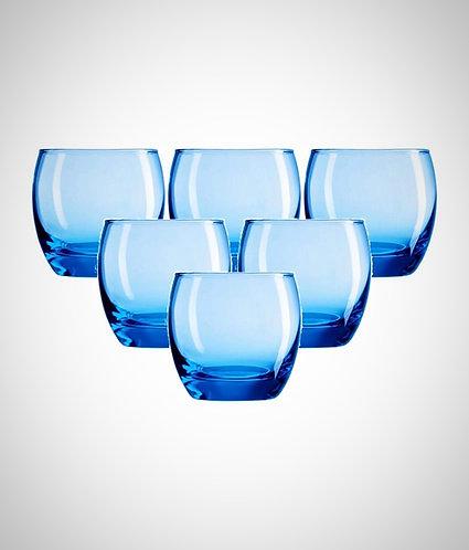 Arcoroc Salto Ice Blue Tumblers 320ml - Set of 6