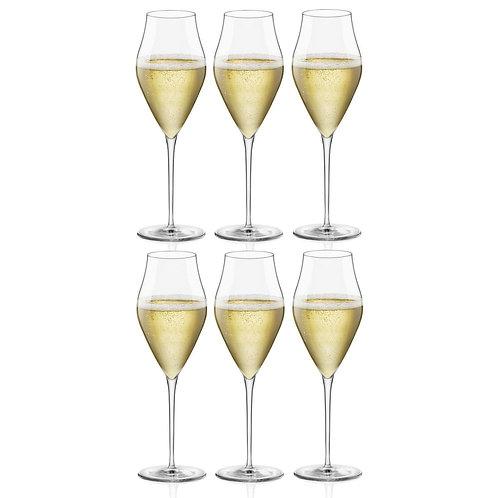 Tulip Prosseco Glasses (Set of 6)