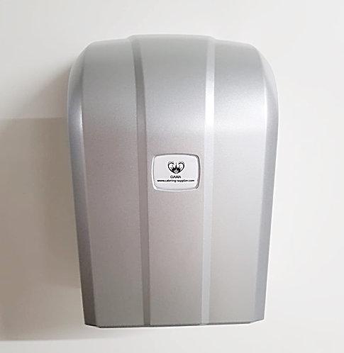 GAMA Z Folded Toilet Paper Dispenser Silver