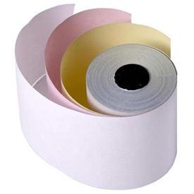 Kitchen Printer Rolls - 3 Ply Rolls- White &Pink & Yellow, 76mm- Pack of 20