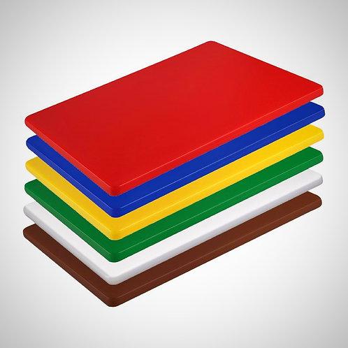 Hygiplas High Density Small Chopping Boards 300x225x12mm (Set of 6)