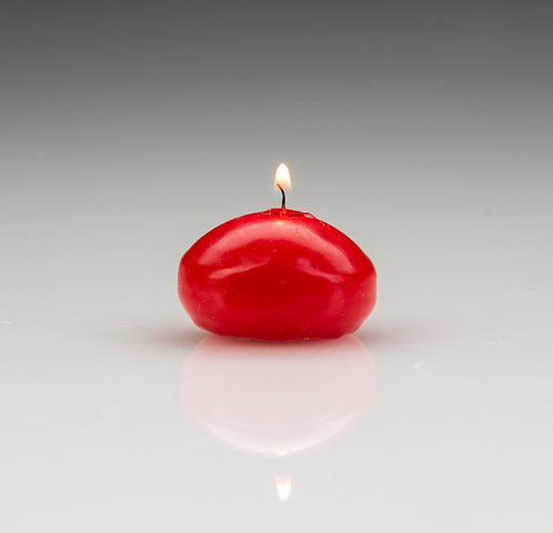 Floating Candles Red (25)