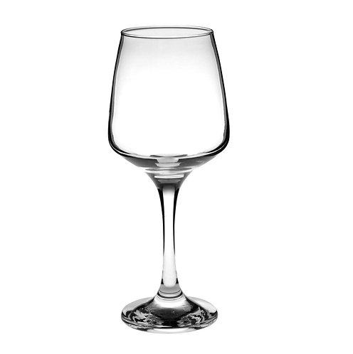 Milano white wine glasses 295ml set of 6