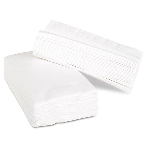 Napkins 1/8 fold, 2 ply, white , pack of 2000