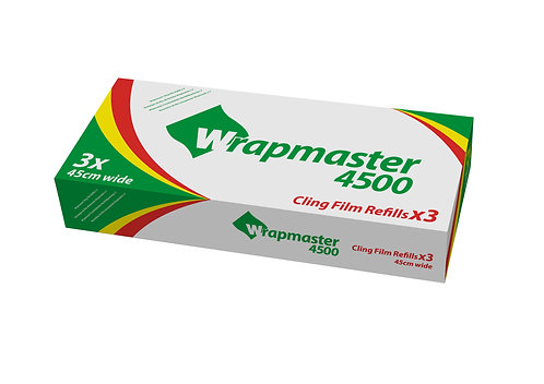 Wrapmaster 4500 Cling Film Refill- 300m- Case of 3
