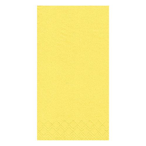 Yellow Napkins, 1/8 fold, 2 ply, 33x33cm, Box of 2000