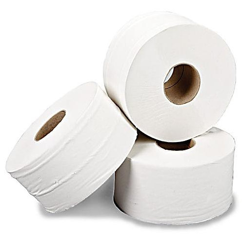 GAMA 2 Ply Mini Jumbo Toilet Rolls 90 m-pack of 12