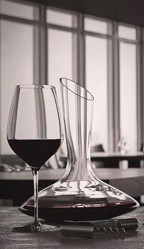 Connoisseur Large Red Wine Glasses - 550ml- set of 6