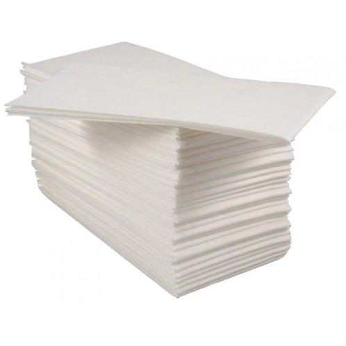 Tablin Airlaid Napkins/ Hand Towels 40cm White (500)
