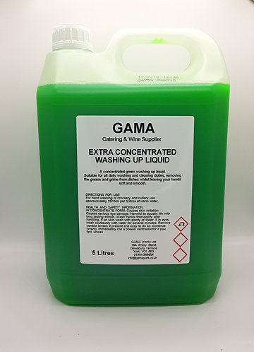 Extra Concentrated Washing Up Liquid - 30% - 5L