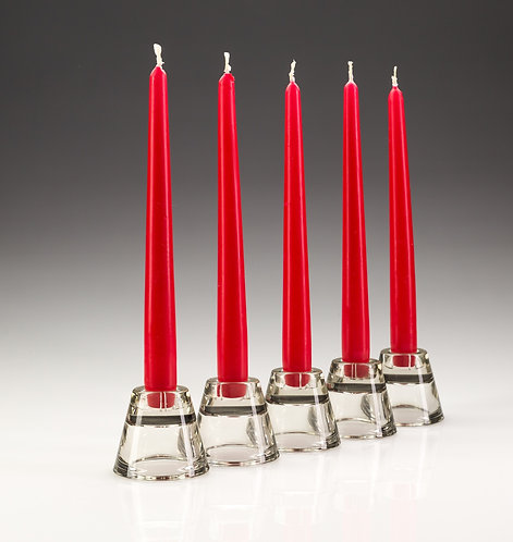 "Bistro Candles 10"" Red (100)"