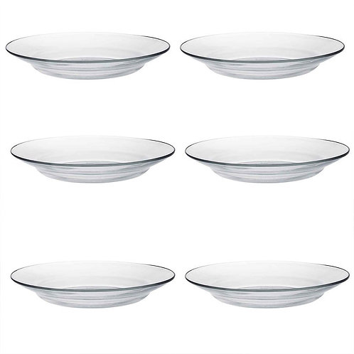 Duralex Lys Deep Dining Dinner Plate - 235mm- Set of 12