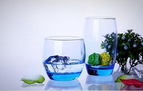 Arcoroc Salto Ice Blue Hi Balls Glasses 350ml- Set of 6