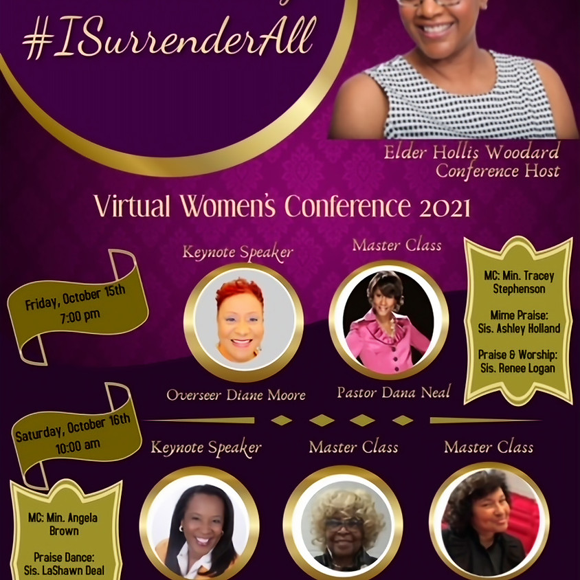 The Unleashing #ISurrenderAll 2021 Virtual Women's Conference