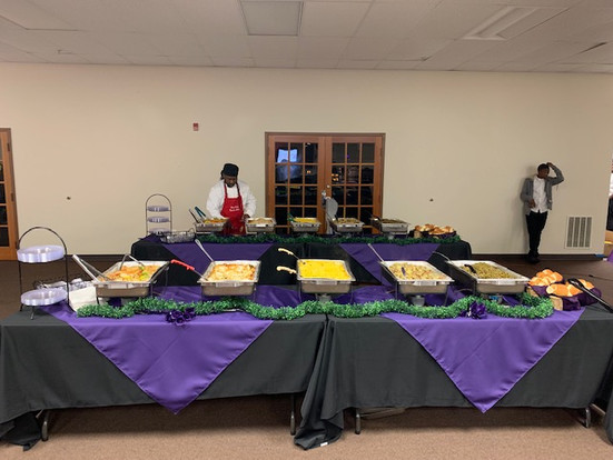 Evening of Elegance 2019 Food Display Ma