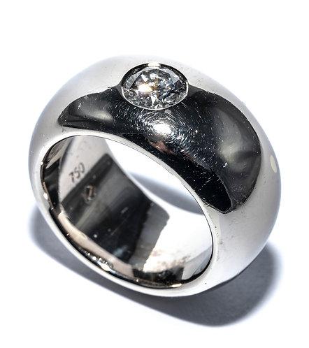 Massiver Solitaire Ring