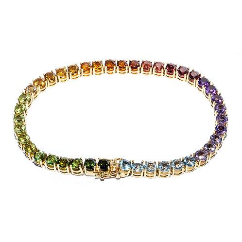 Regenbogen Bracelet Gelbgold