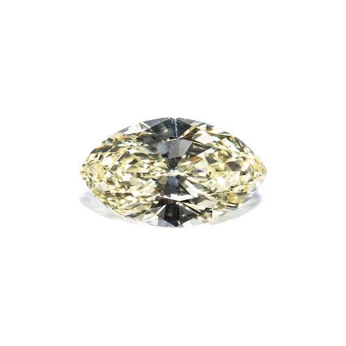 Diamant Marquise - Fancy Light Yellow 1.130 Carat