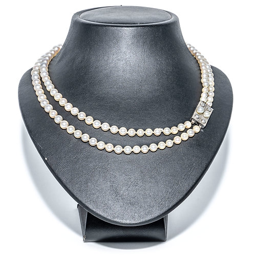 Multirang Akoja Perlenkette
