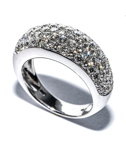 Diamanten-Pavé Ring