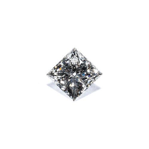 Prinzesscut Diamant 1.010 Carat