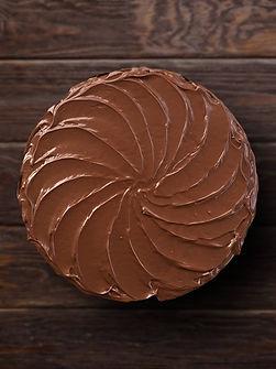 Torta de Brownie con Nutella
