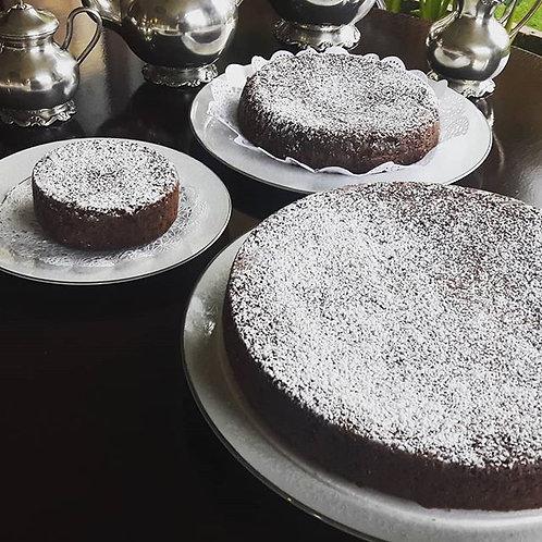 Torta de Brownie Tradicional