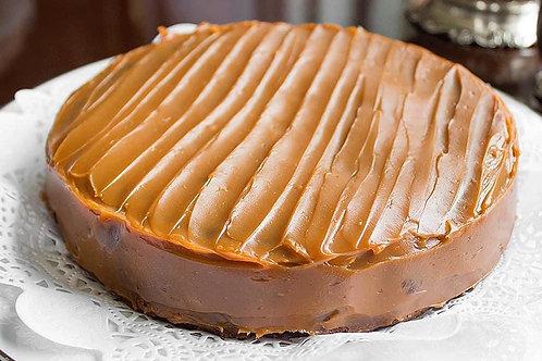 Torta de Brownie  con Arequipe
