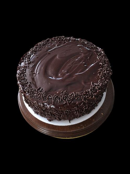 Torta de Chocolate con Ganache de Chocolate