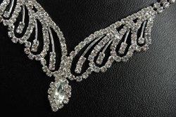 Classic cut Austrian Crystal necklace set