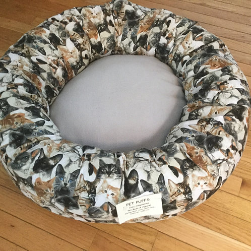 Kitty Puffs-Cat Bed