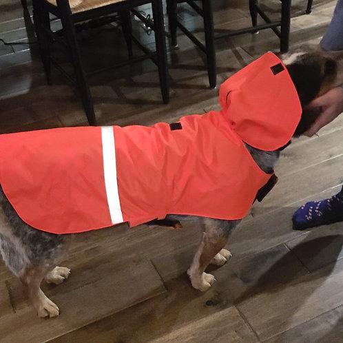 LG DOG BLAZE ORANGE WATERPROOF COAT