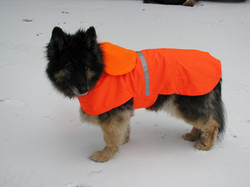 Kira In Reflec.Blaze Orange Coat