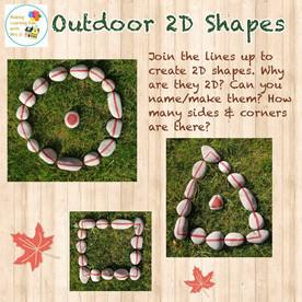 Ourdoor 2D Shapes