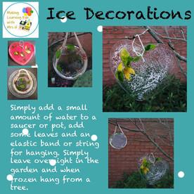 Ice Decorations